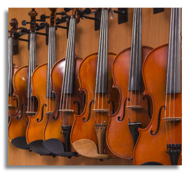 Instrument Donations from Stores or Individuals Appreciated