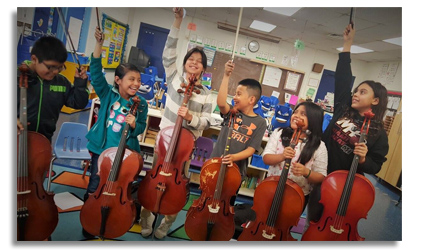 Bridges Music Program Baltimore Boy Girls Students