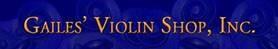 Gailes Violin Shop Inc, Corporate Sponsor